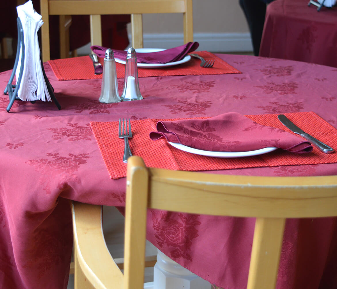 Holmer Manor Care Home dining