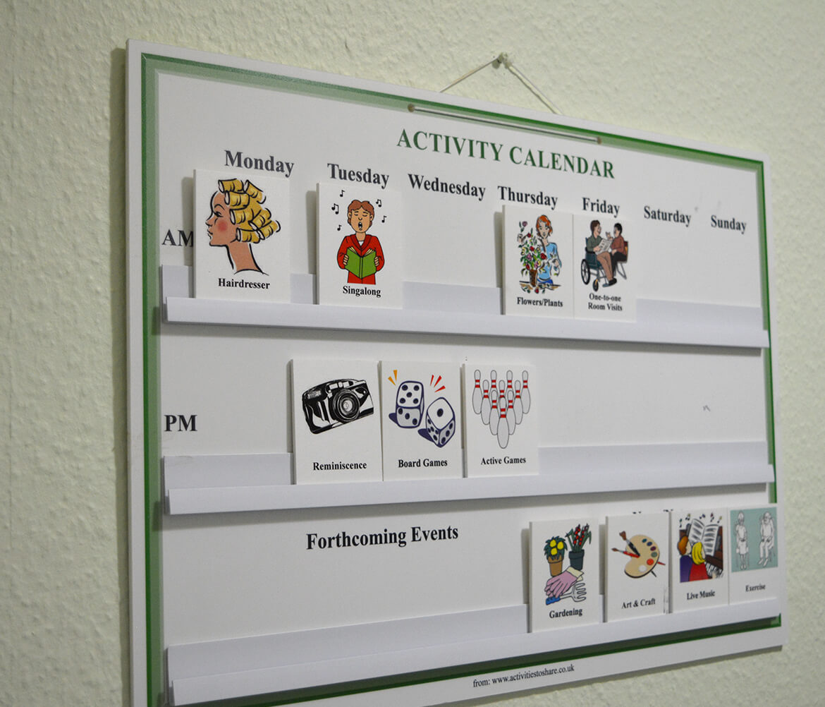 Holmer Manor Care Home activities and wellbeing
